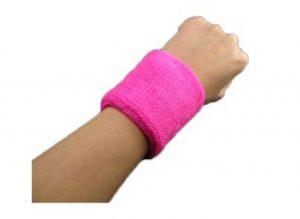 Svedbånd til armen i pink